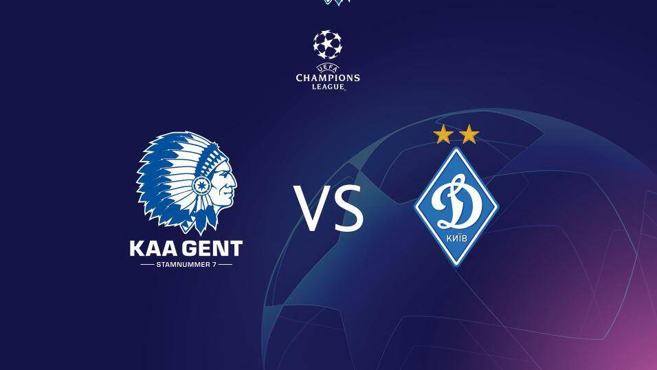 KAA Gent vs Dynamo Kiev - win € 50 - Champions League - online-casino-info.be