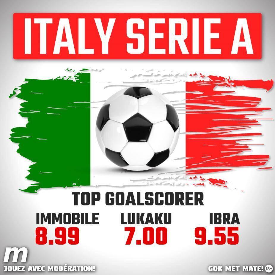 Merdianbet : Italië Serie A - Wed op de top goalscorer