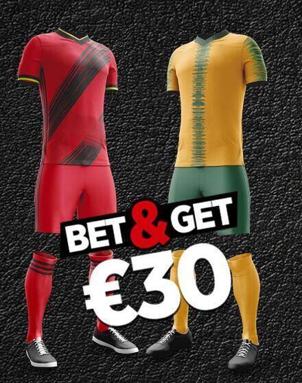 België vs Ivoorkust | Wed met 10 euro en krijg 30 euro